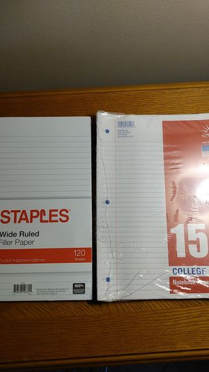 Notebook paper for Sale in Orland Hills, IL