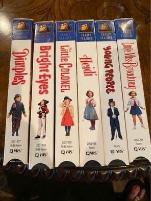 Shirley Temple VHS Set for Sale in Abilene, TX