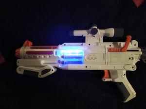 Star wars Nerf gun glow technology captain phasma blaster for Sale in Albuquerque, NM
