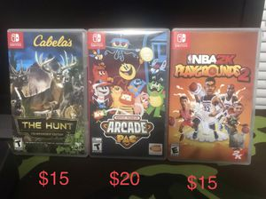 Nintendo Switch Games ! for Sale in Houston, TX