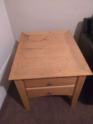 Solid Wood nightstand dresser for Sale in Clovis, CA
