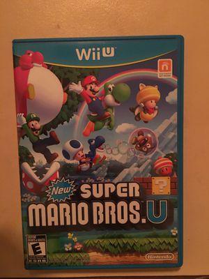 Nintendo Wii U super Mario bro's u for Sale in Visalia, CA