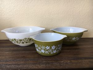 PYREX Mixing Bowls for Sale in Los Angeles, CA