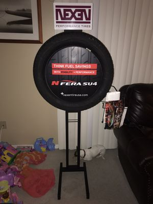 2 Tire Display Stand tires NEW for Sale in Tampa, FL