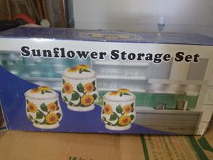 Sunflower storage containers for Sale in Aurora, CO