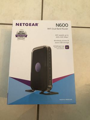 Netgear N600 Wireless Dual Band Router for Sale in Miami, FL