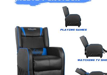 Polar Aurora Recliner Massage Gaming Chair. for Sale in Lowell,  MA
