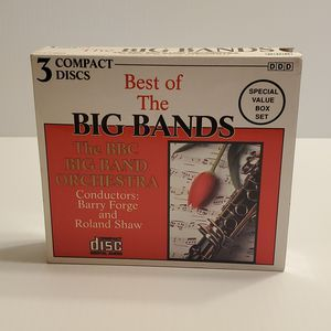 Original Vintage 1991 BEST OF THE BIG BANDS BBC Orchestra 3 CD Set. for Sale in Campbell, CA
