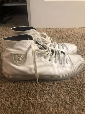 """Saint Laurent high top """"used leather"""" shoes size 11 for Sale in Scottsdale, AZ"""