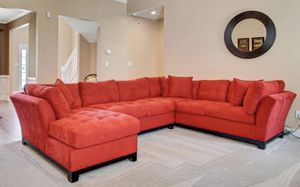 Cardinal 3 Pc Sectional Couch for Sale in Hampton, GA