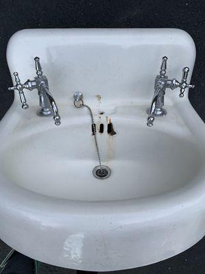Vintage bathroom sink/Standard brand 1925 for Sale in Rye, NH