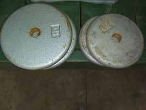 Steel weights for Sale in Easley, SC