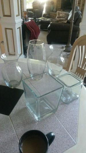 Assorted beautiful glass vases for Sale in Colesville, MD