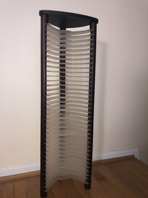 Clear Standing DVD Organizer Tower for Sale in Centreville, VA
