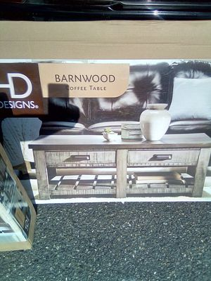 HD Barnwood Coffee Table, Console Table, and a End Table for Sale in Auburn, WA