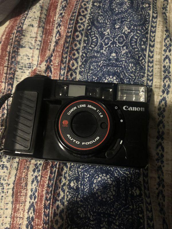 Canon 38mm 2.8 film camera