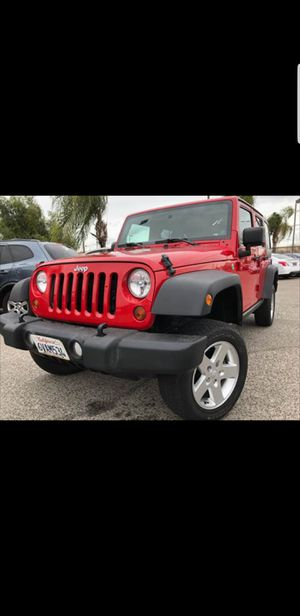 💥2012 JEEP WRANGLER SPORT 4X4 w/87 k miles 💥//WONT LAST// CLEAN CARFAX💥//FAST & EASY FINANCING WITH OUR $400 DOWN PROGRAM!✅ for Sale in Selma, CA