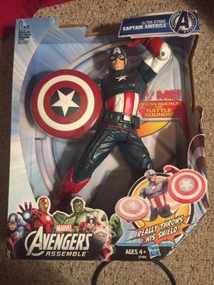 Captain America action figures for Sale in Bristow, VA