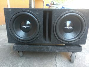 New 12-inch skar subs 1200 w each for Sale in Oakland, CA