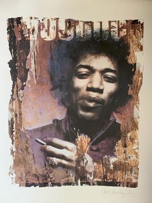 Jimi Hendrix — Limited Edition Art for Sale in San Francisco, CA