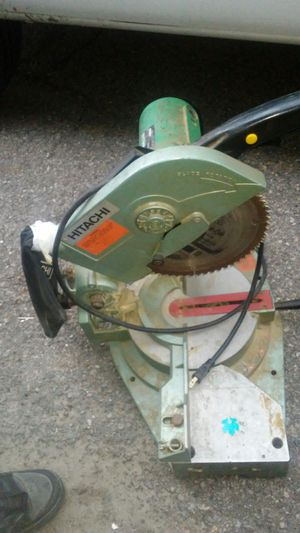 Hitachi compound motor saw for Sale in Murray, UT