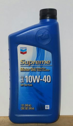 Aceite chevron 10w-40 para motor gasolina for Sale in Los Angeles, CA
