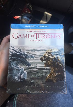 Game of thrones Season 1-7 BRAND NEW for Sale in Tampa, FL