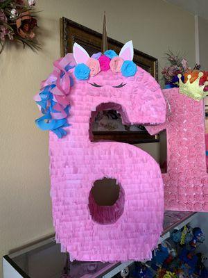 Número 6 unicornio for Sale in Glendale, AZ
