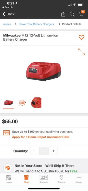 Home Tools Power Tool Accessories Power Tool Battery Chargers Internet #Milwaukee M12 12-Volt Lithium-Ion Battery Charger for Sale in Austin, TX