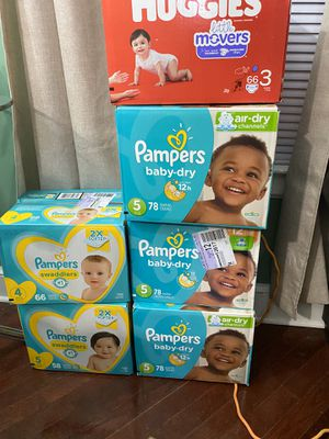 Pampers for Sale in Adelphi, MD