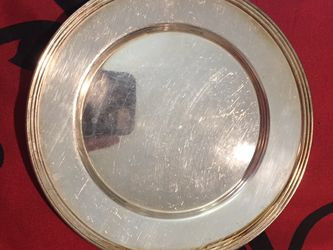 National Silver On Copper Plates for Sale in Crewe,  VA