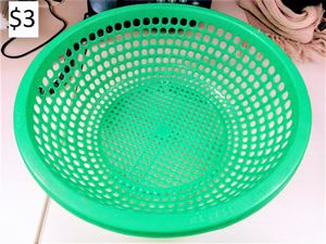 Kitchen food strainer colander sieve green for Sale in New York, NY