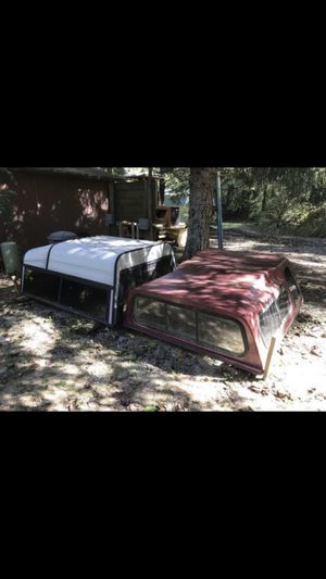 Continental Pick-up Truck Campers EXCELLENT CONDITION!!! $200 each or $300 for both. Both are approximately 6 feet 3 inches long and 5 feet wide (75x for Sale in Saluda, NC