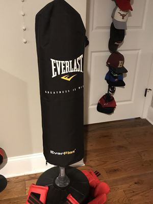 Everlast punching bag for Sale in Middleton, MA