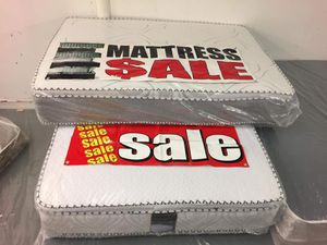 queen pillow top mattress with boxspring for Sale in Gardena, CA