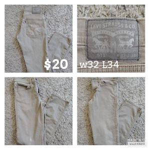 Levi Strauss 32 34 for Sale in Laveen Village, AZ