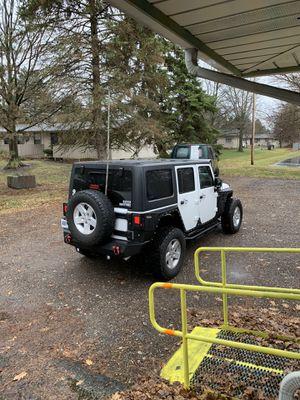 5 Jeep Wrangler wheels for Sale in Pickerington, OH