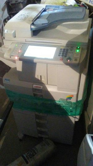 Lanier multifunctional touchscreen Color Copier for Sale in Pueblo, CO