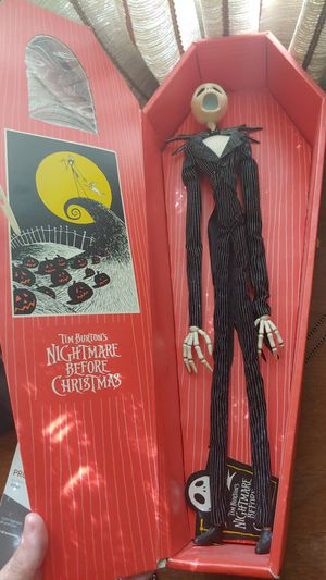 Jack Skellington, Nightmare Before Christmas, Coffin Collectable for Sale in Boulder City, NV