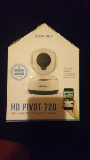 HD pivot 720 wi-go security camera for Sale in Columbus, OH