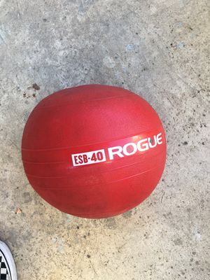 Rogue Slam Ball (40lbs) for Sale in Pasadena, CA