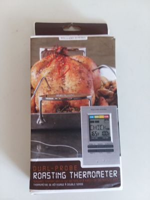 WILLIAMS SONOMA DUAL- PROBE ROASTING THERMOMETER. for Sale in Adelphi, MD