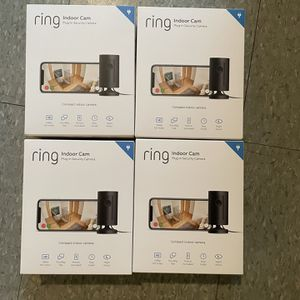 Ring Indoor Cam Plug-In HD with Two-Way Talk White New for Sale in Hartford, CT