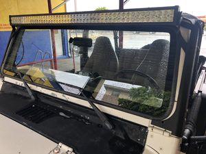 Jeep lightbar w bracket 50in for Sale in Miami, FL