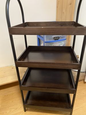 Dining table brown 4 shelves for Sale in Renton, WA