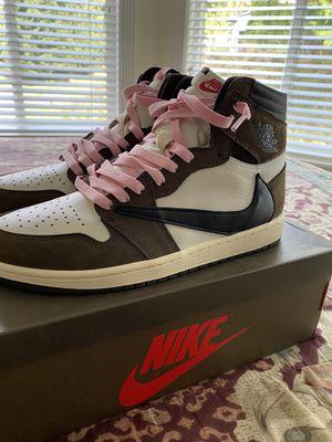 Nike air Jordan Travis Scott 1s for Sale in Mukilteo, WA