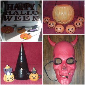 Assortment of Halloween decorations for Sale in Seal Beach, CA