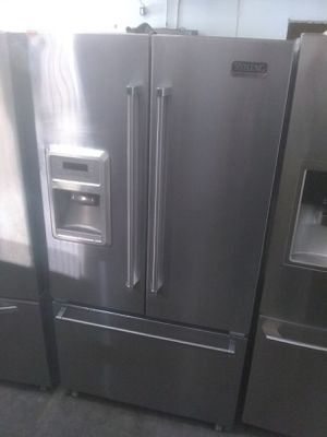 Viking professional stainless steel french door refrigerator home appliance and kitchen appliances for Sale in San Diego, CA