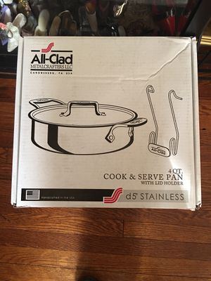 All- Clad .D5. Cook & Serve Pan 4.Qt brand New for Sale in Newark, NJ