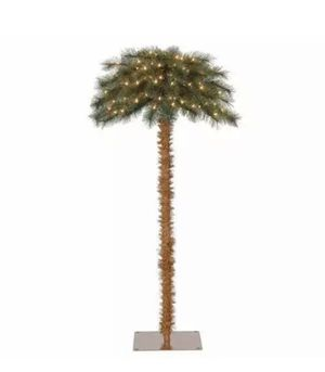 5ft Pre-Lit Artificial Tropical Palm Tree w/ White Light for Sale in Phoenix, AZ
